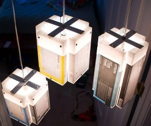 Recycled Ink Cartridges Get New Life as Lamps