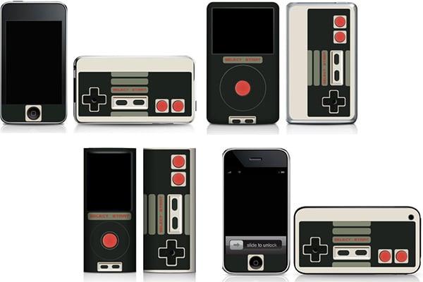 iphone & ipod nes skins 2