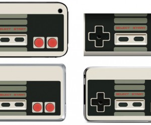 Wireless NES Controllers? Nah, Just iPod and iPhone Skins