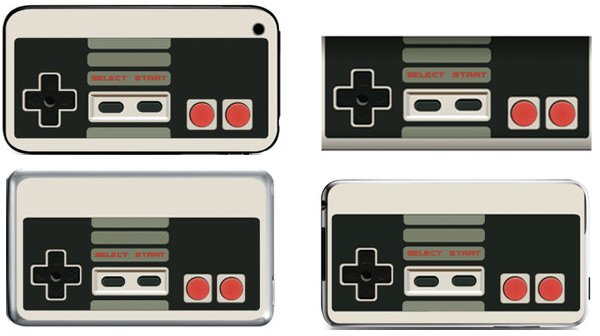 ipod & iphone nes skins