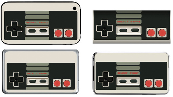 ipod iphone nes skins