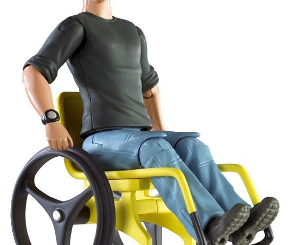 Jake Sully Wheelchair Action Figure [Avatar Epic Fail]