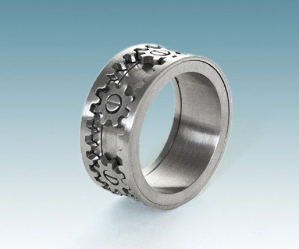 Kinekt Gear Ring: the Only Ring a Geek Would Ever Want