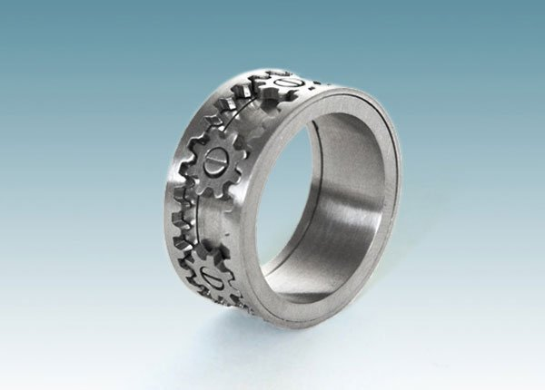 Kinekt Gear Ring The Only Ring A Geek Would Ever Want