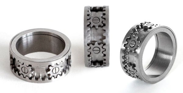kinekt design gear ring views