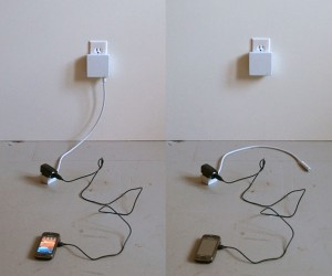 Leech Plug Unplugs Itself When Its Done Charging