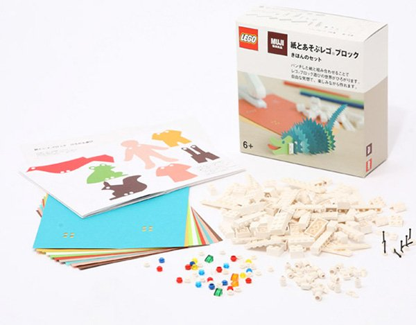 LEGO and Muji Let You Create Toys Out of Brick and Paper