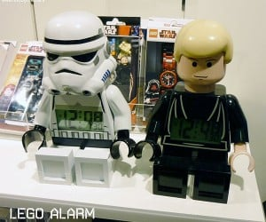 LEGO Star Wars Minifig Alarm Clocks Ready to Wake You Up