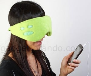 Leisure Eyes Sleep Mask With Speakers: Sleep on the Cheap