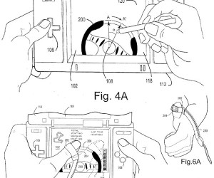 Nintendo Filed Patent for Touch Screen Steering Wheel: Cool or Stupid?