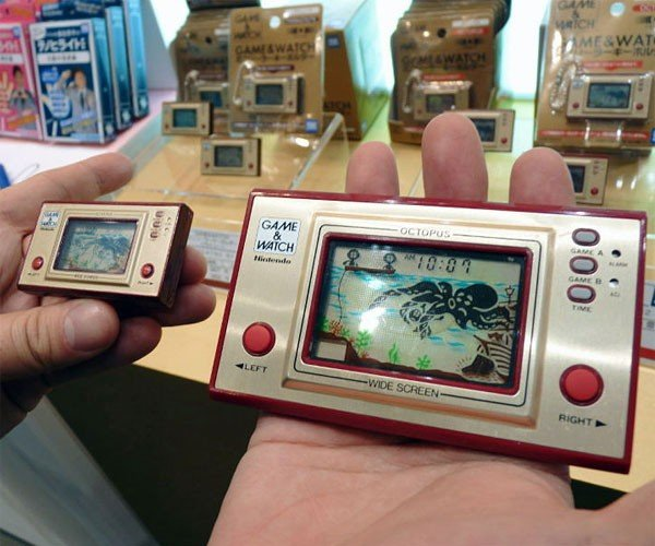 Nintendo Game & Watch Minis: Relive Your Youth, Only Smaller