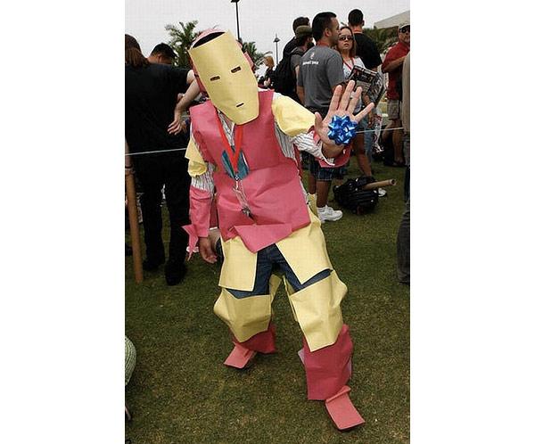 paper iron man
