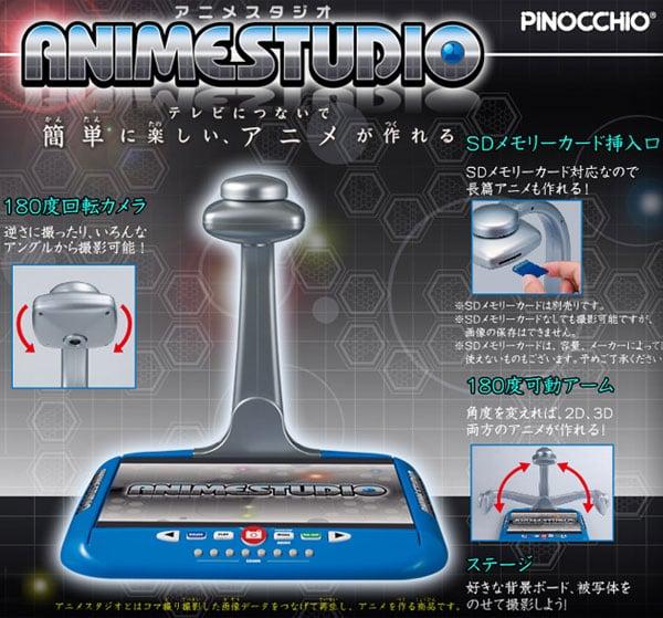pinocchio anime studio