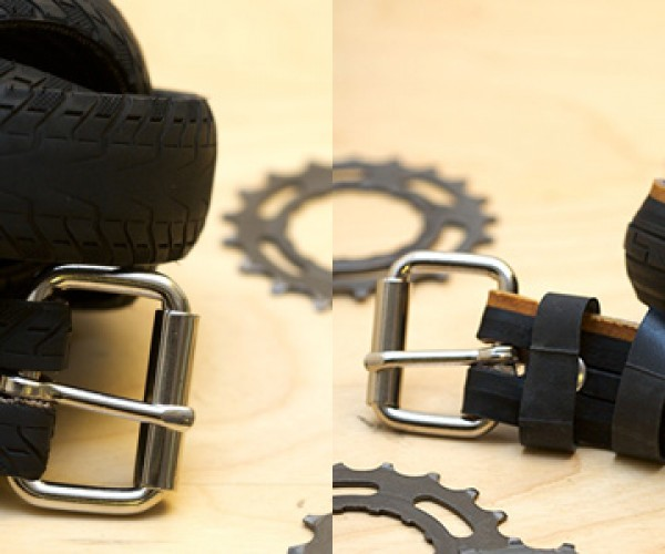 Rebicyclist Tire Belts: Rugged Recycled Rubber