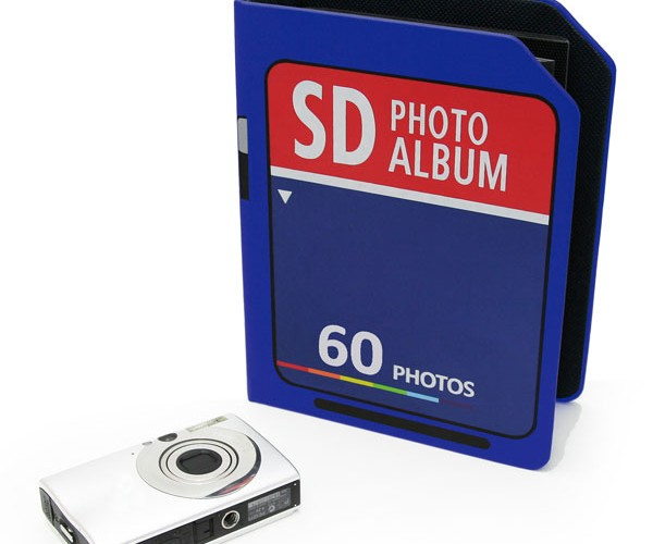 Giant Sd Card Holds Only 60 Photos