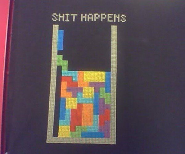 An Important Lesson From Tetris, Immortalized in Cross-Stitch