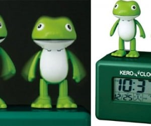 Singing Kero Alarm Clock: Dueling Frogs Wake You From Your Peaceful Slumber