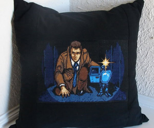 Ssshhh Metal Gear, the Bioroids Might Snatch This Pillow