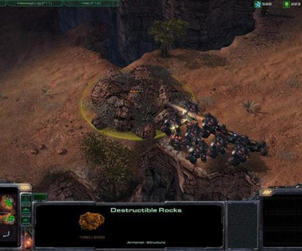 Starcraft 2 Gives Noobs the Gift of Destructible Rocks