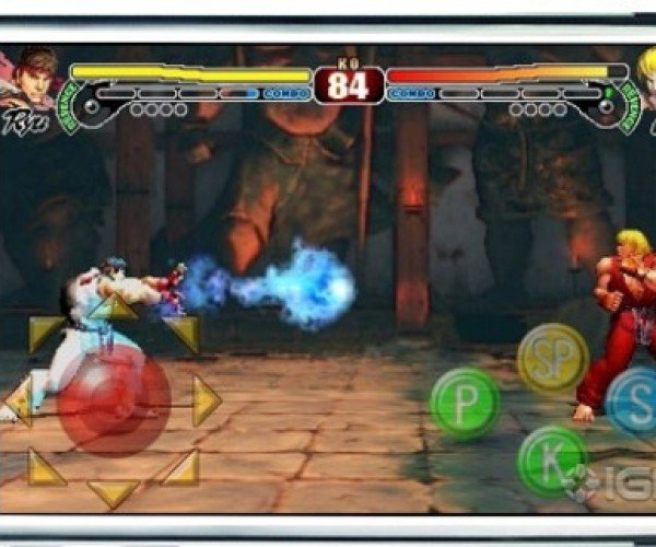 Pocket Fighter: Street Fighter 4 Coming to iPhone