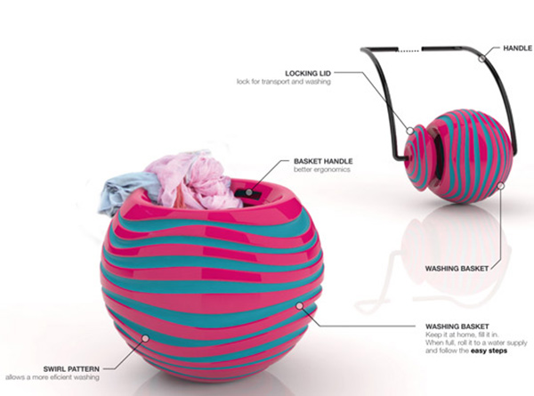 swirl concept washing ball 3