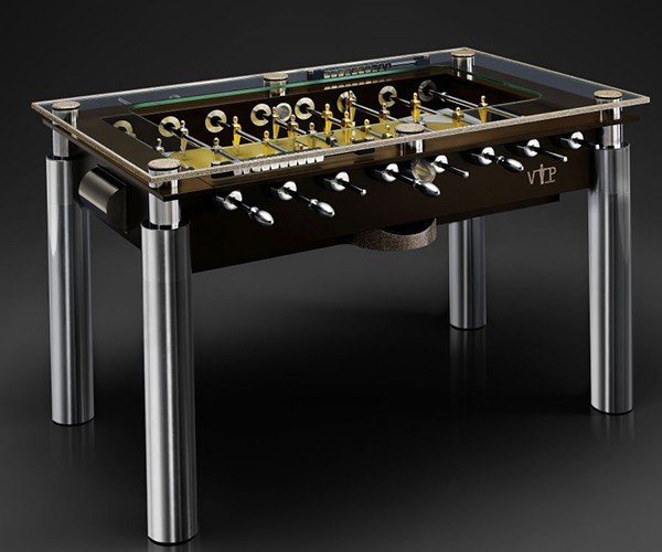 Vip Kicker Premium Edition Foosball Table: You Must be a Millionaire or Richer to Play