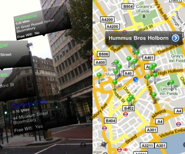 Worksnug: Find Free Wifi Hotspots Using Augmented Reality