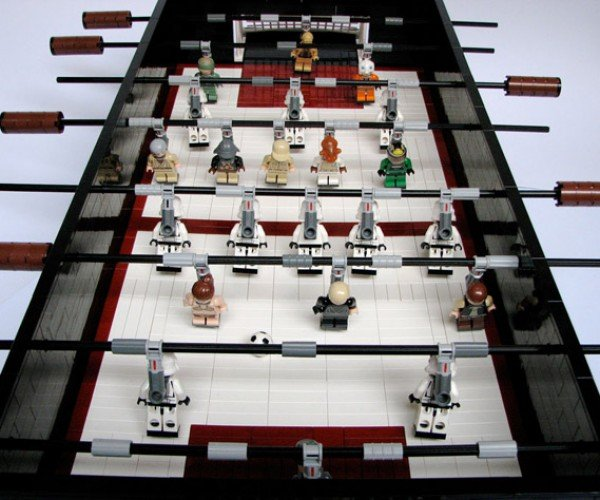 LEGO + Star Wars + Foosball = Awesome