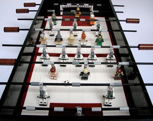 lego foosball star wars games play