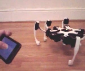 IPhone-Controlled Hexapod Robot Walks Into Our Lives