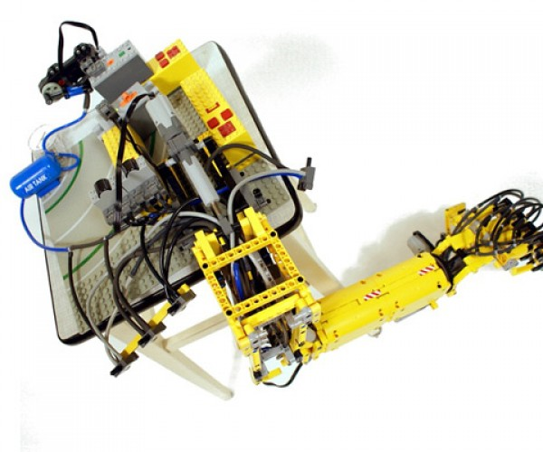Sariel'S LEGO Robot Hand was Built in a Weekend