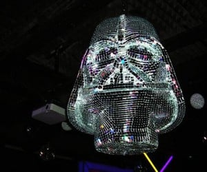 The Darth Vader Disco Ball: Dancin' to the Dark Side