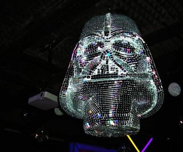 The Darth Vader Disco Ball: Dancin' to the Dark Side