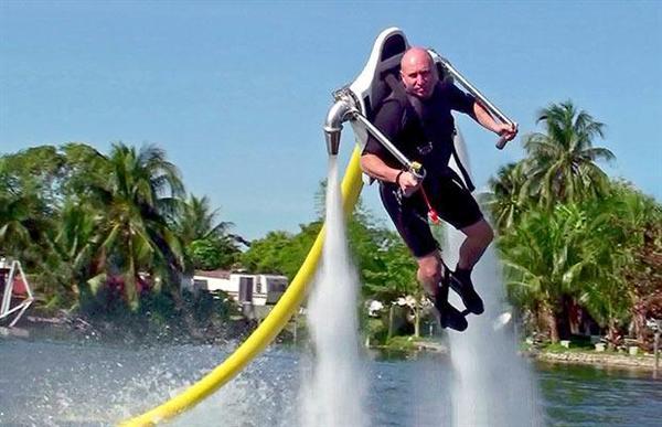 jetlev flyer jetski jetpack water flying