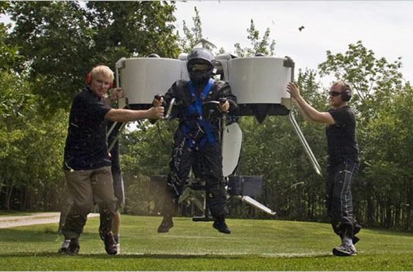 martin aircraft jetpack flying future