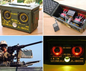 Bulletproof Your Music With the Ammo Box iPod Dock