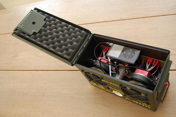 Image Result For Diy Speaker Ammo Boxa