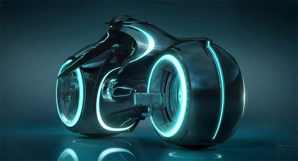 tron legacy movie trailer science fiction retro