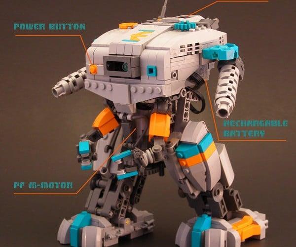 Element Commune: Legohaulic'S Walking LEGO Mech