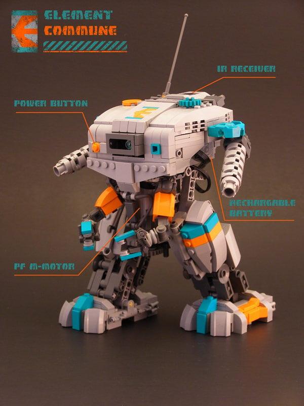 legohaulic lego biped robot lego walking