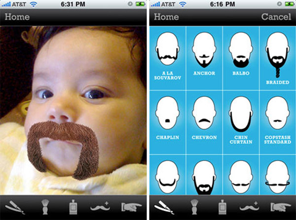 beardme app iphone fun digital imaging