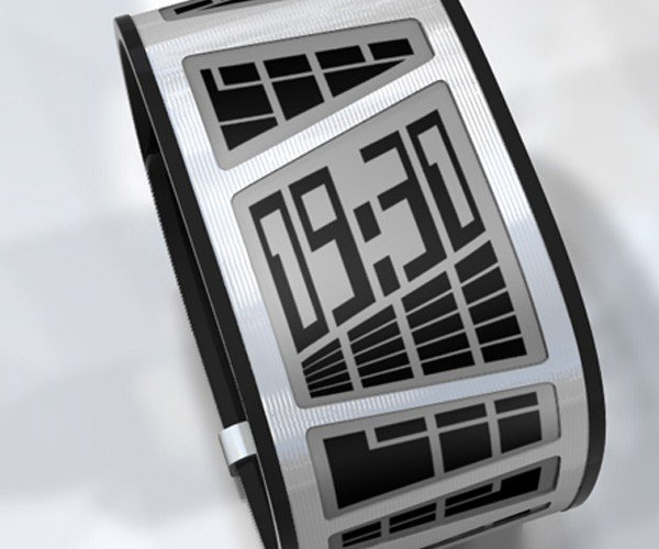 Tokyoflash E-Ink Concept Watch Will Become a Reality if You Vote for It!