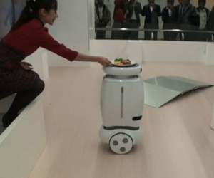 Toshiba'S Wheelie Could be Your Robotic Butler