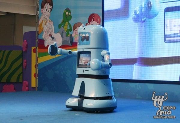 haibao robot china shanghai world expo