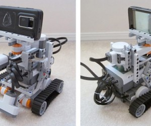 LEGO Mindstorms Robot Controlled by Tweets