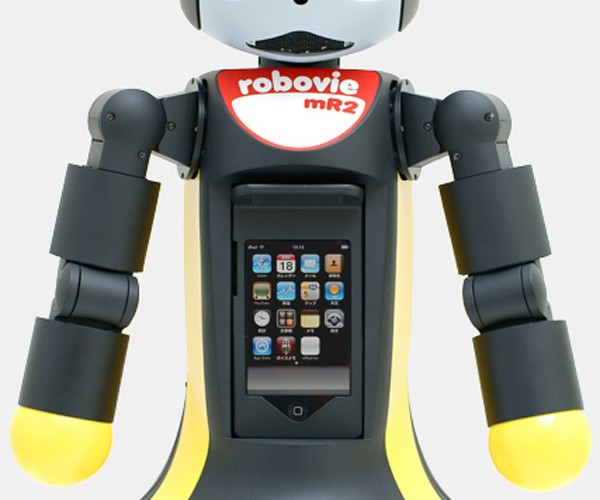 Robovie Mr2 Combines Robot and iPod Touch