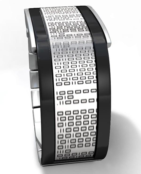 binary flow tokyoflash japan watch
