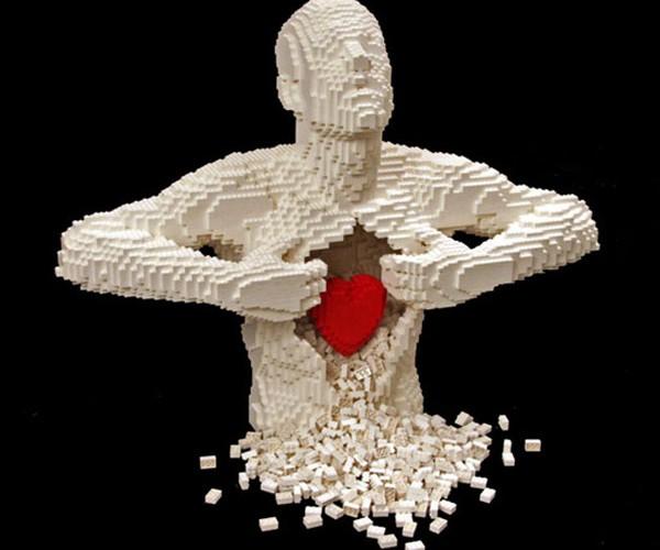 Nathan Sawaya'S Brick by Brick LEGO Sculptures
