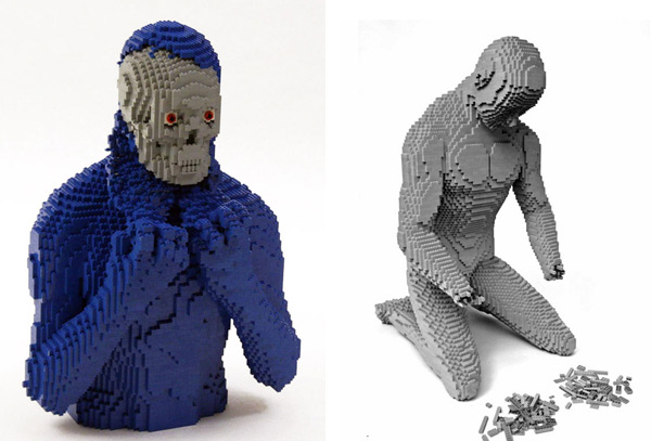 nathan sawaya lego sculpture art