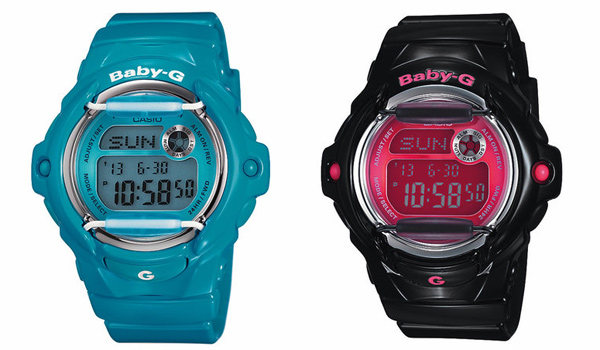 casio baby-g g-shock watch timepiece